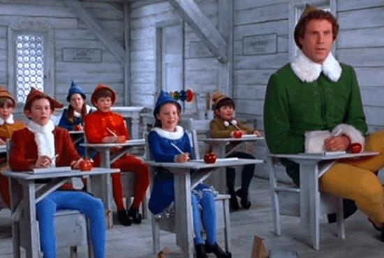 movie for christmas - elf