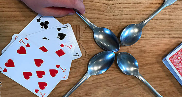 fun games to play with friends - spoons