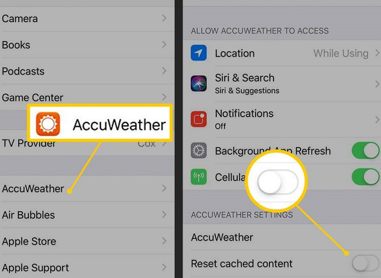 how to clear cache on your iphone