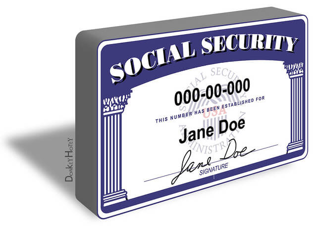 how to protect yourself from identity theft - secure your social security number