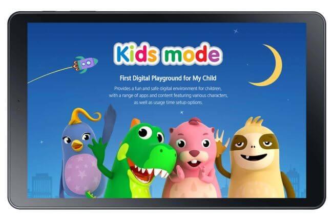 Samsung tablet kids mode