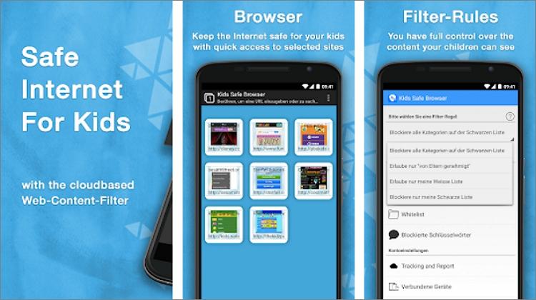 Safe Browser Parental Control