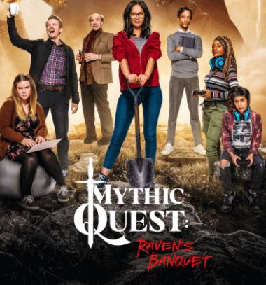 best apple tv shows - mythic quest: raven banquet