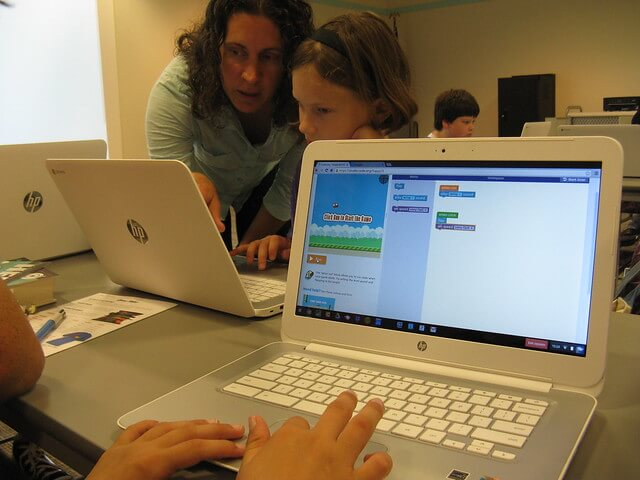 benefits of chromebook for kids - improve collaboration