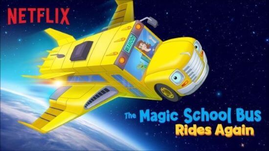 educational tv shows for kids - the magic school bus rides again