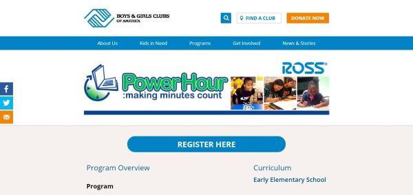 free online tutoring - power hour