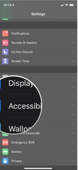 turn on guided access on iphone - accessibility
