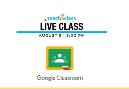 google classroom tutorial - live classes