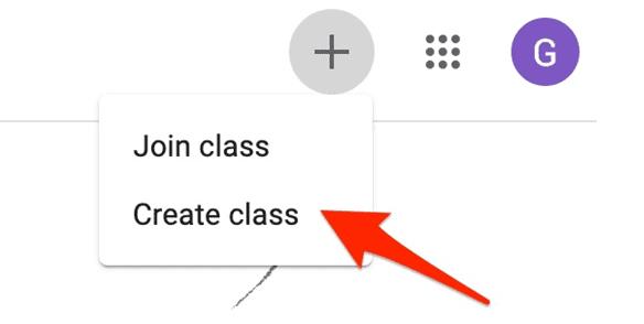 google classroom tutorial - create class