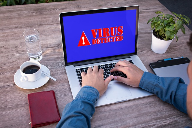 online threat - malware