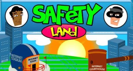 internet safety games - safety land