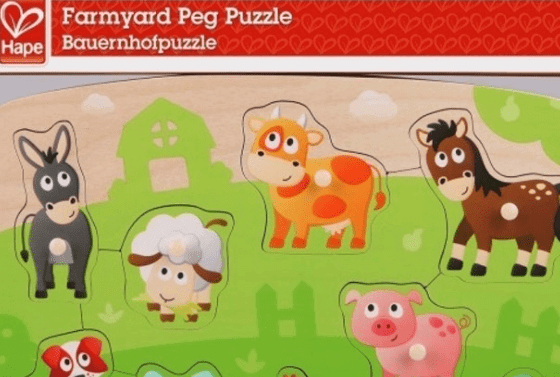 best learning toys for kids - peg puzzles
