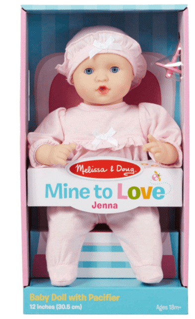 best learning toys for kids - baby doll