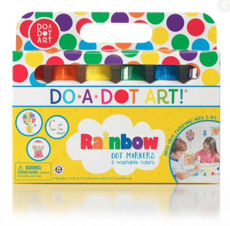 best learning toys for kids - washable markers