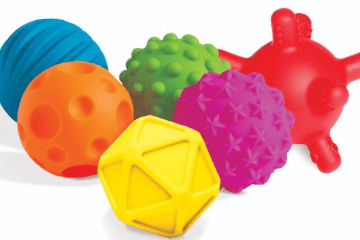 best learning toys for kids - sensory balls