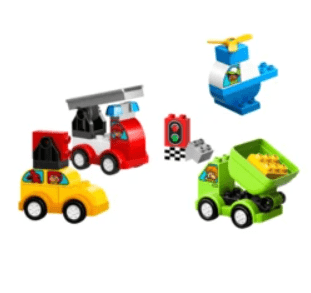 best learning toys for kids - lego car creations