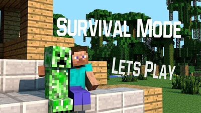 build and a Minecraft survival mode