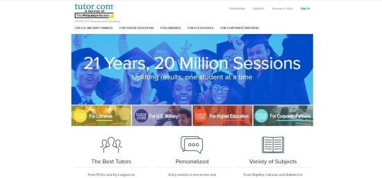 online tutoring jobs for kids - tutor.com