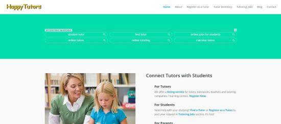 online tutoring jobs for kids - Happy Tutors