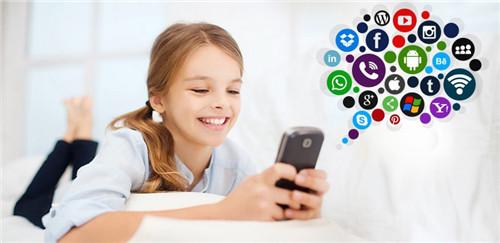 kid's behavior online