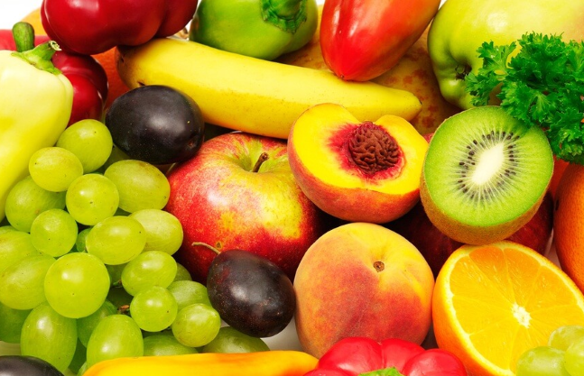 lutein and zeaxanthin-rich fruits and veggies
