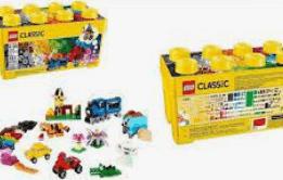 lego for kids - lego classic medium creative brick box