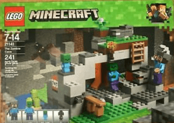 lego for kids - LEGO Minecraft The Zombie Cave