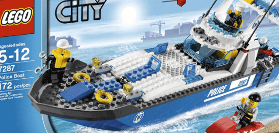 lego for kids - Lego Police Patrol Boat