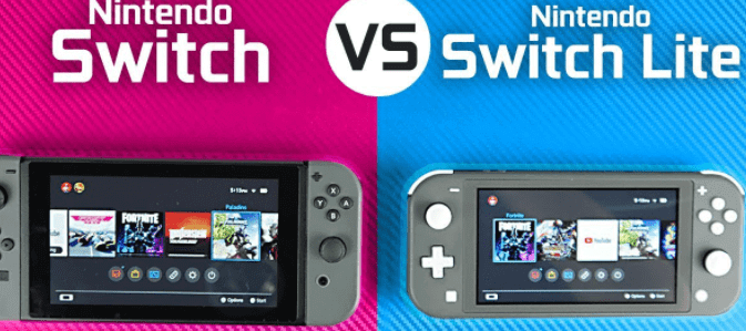 nintendo switch vs switch lite - comparison