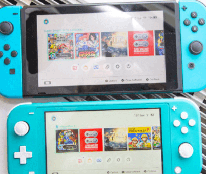 nintendo switch vs switch lite - display