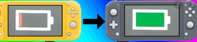 nintendo switch vs switch lite - battery life