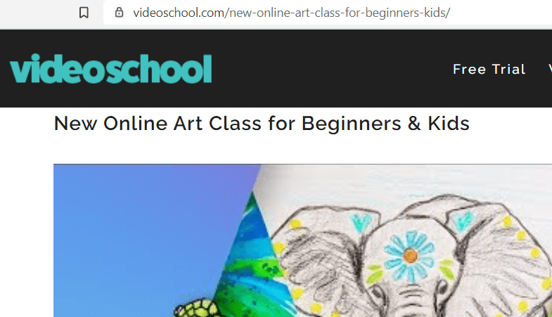 why choose online drawing classes for kids - Video School Online