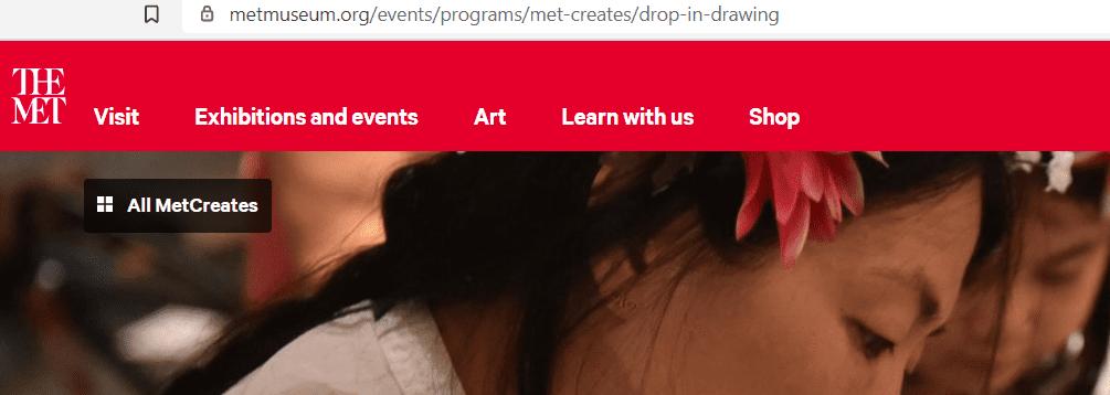 why choose online drawing classes for kids - Metropolitan Museum of Art
