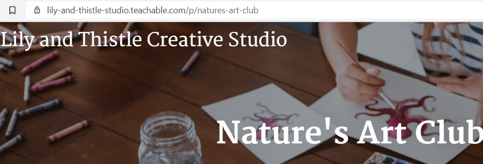 why choose online drawing classes for kids - Natures Art Club