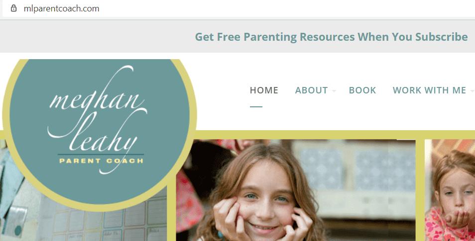 online parenting classes - Meghan Leahy Parent Coach