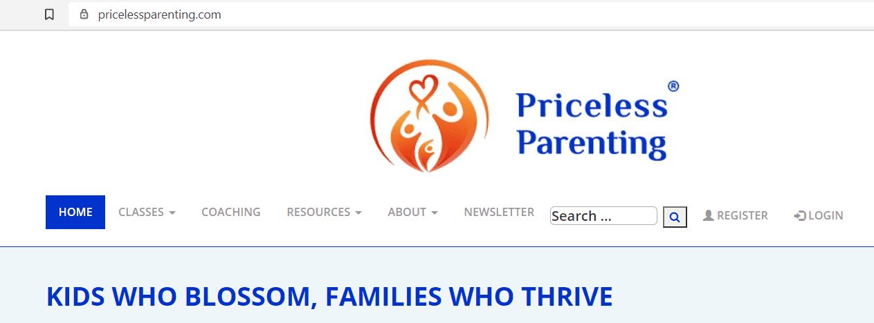 best online parenting classes - Priceless Parenting