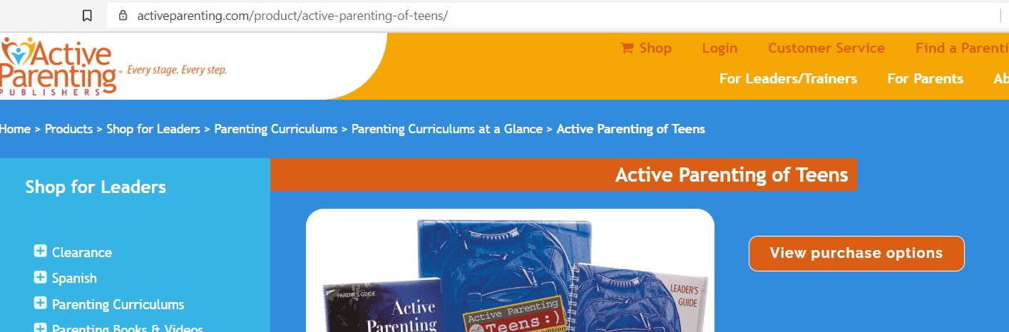 best online parenting classes - Active Parenting of Teens