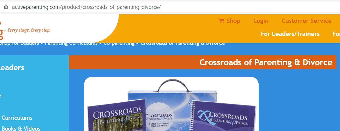 online parenting classes - Crossroads of Parenting and Divorce