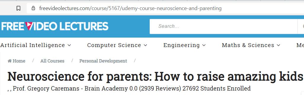 parenting classes - Neuroscience for Parents
