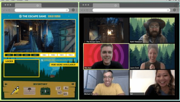online virtual room