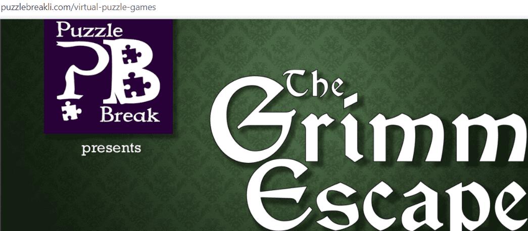 online virtual room - The Grimm Escape