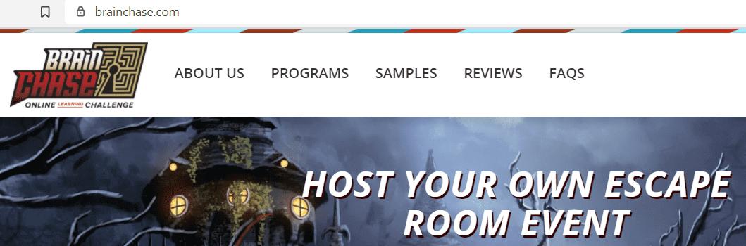 online virtual room - Brain Chase