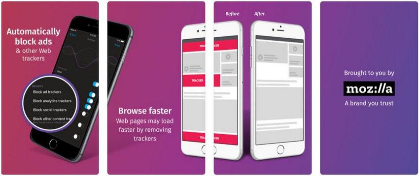 ad blocker - Firefox Focus