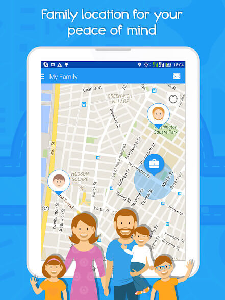 gps tracker app android - My Family GPS Tracker