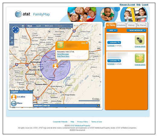 at&t Family Map Review