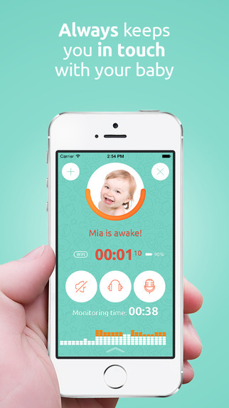 application de moniteur de bébé - Baby Monitor Annie