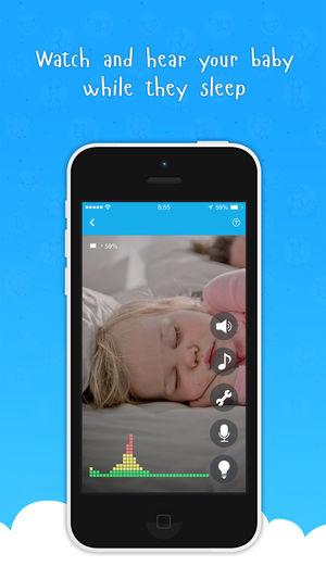 aplicación para monitorear Bebés - Ahgoo Baby Monitor