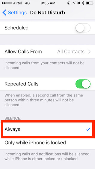 How to block unknown calls