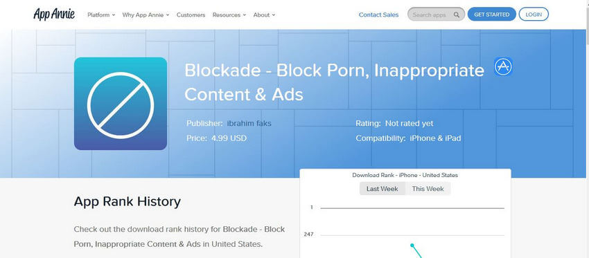 Pornos auf iPhones blockieren - Blockade