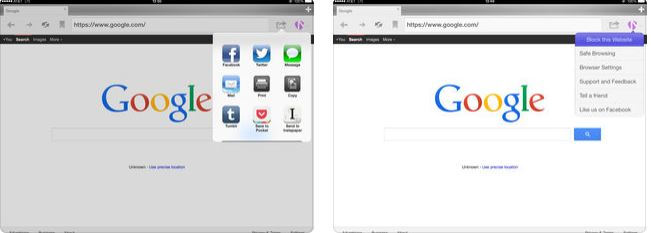 bloquear porno en el iPhone - Safe Browser for Education